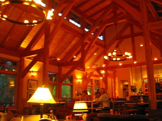 Cathedral Mountain Lodge: Great Ambiance