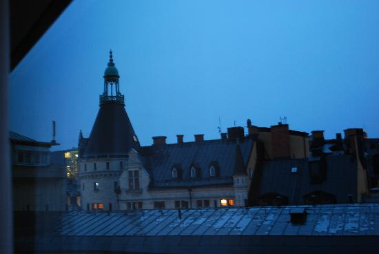 Scandic Anglais: View from our room: 3:30am