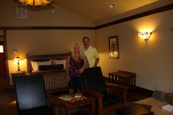 Five Pine Lodge & Spa: We so enjoyed this setting!