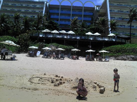 SERHS Natal Grand Hotel: Curtindo praia e piscina do Hotel