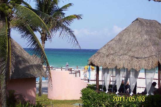Allegro Playacar : Beach veiw from room