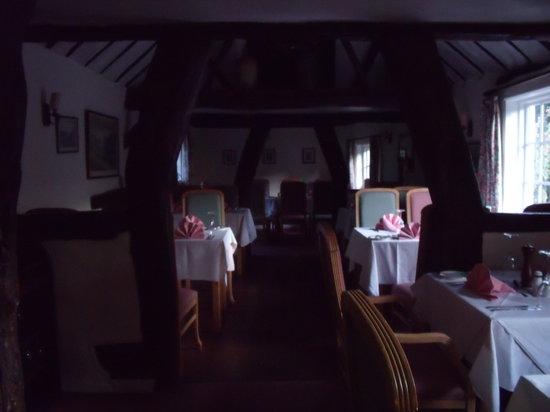 The Swan Inn: dining room
