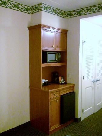 Hilton Garden Inn Green Bay: Microwave, refrigerator