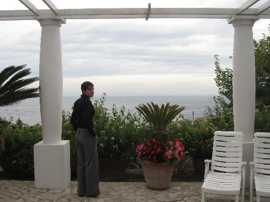 Il Portico: foto dalla terrazza! ahimé era una giornata nuvolosa.