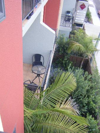 The Terraces At Ocean Beach: # bedroom Apartments on 3 floors. Nice vies from some rooms