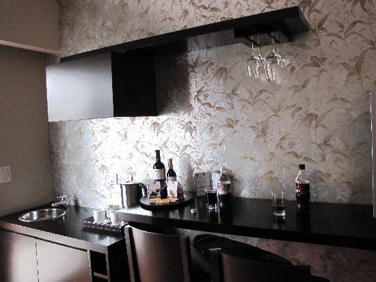 ذا جلو بوتيك هوتل - باليرمو سوهو: mini bar/kitchen area