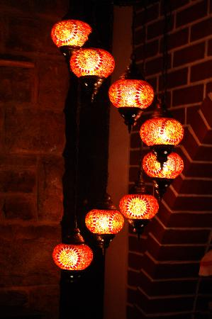 Karma Mediterranean Grill & Bistro: Karma's Lanterns!