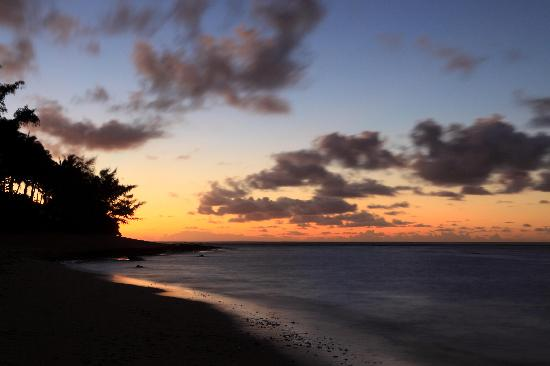 Hale Makai Cottages: Kepuhi Point at twilight