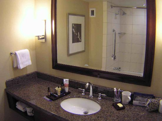 Raleigh Marriott City Center: Bathroom 1002