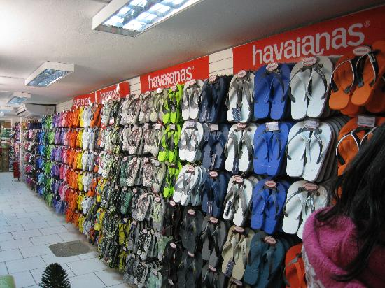 Saara Shopping District: Flip Flops!