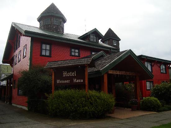 Hotel Weisserhaus: Fachada Principal