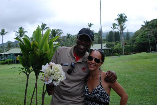 Travaasa Hana, Maui: Hubert and Alana!