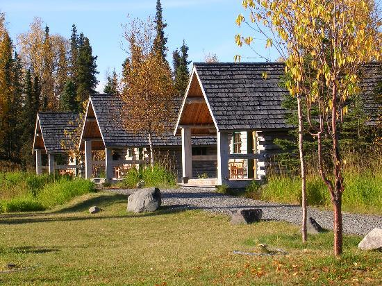 Tower Rock Lodge: Log Cabins