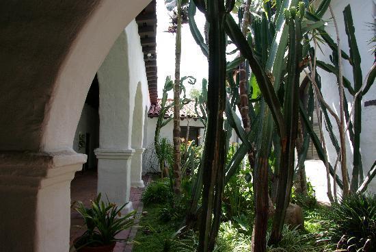 Mission San Diego de Alcala : Inner garden