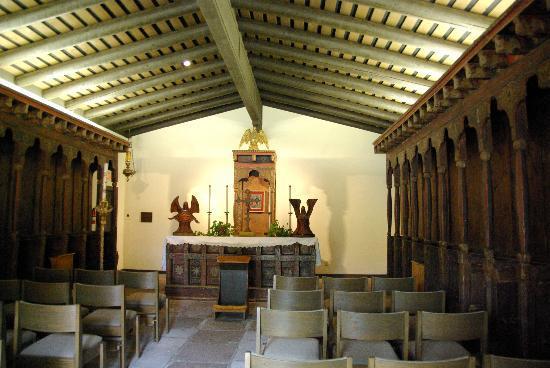 Mission San Diego de Alcala: Mission chapel