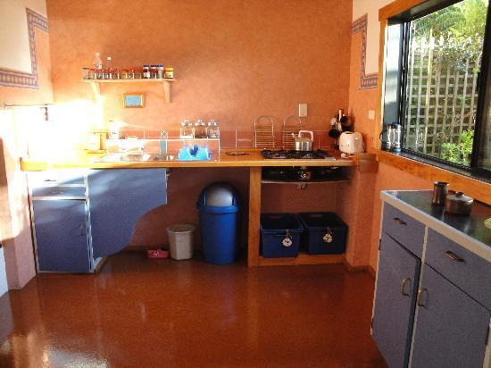 Wainui Lodge: The Kitchen