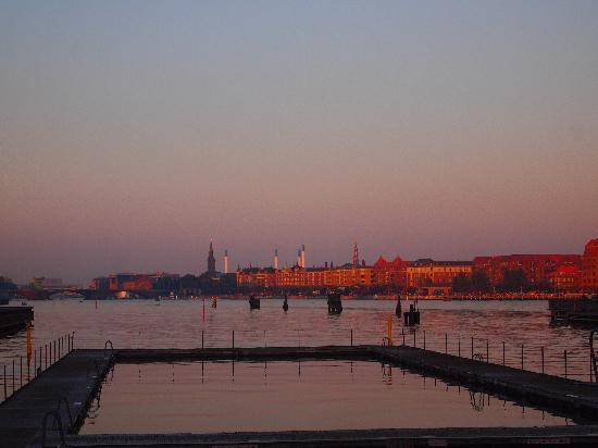 Copenhagen Island Hotel: ホテル近くからの眺め