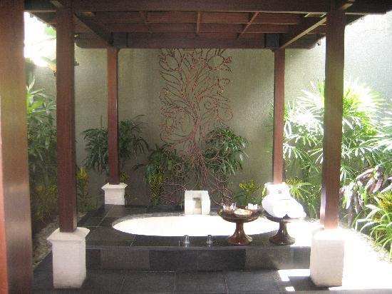 The Ulin Villas & Spa: The bath