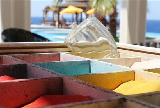 The Oberoi Sahl Hasheesh: Sand Art at The Oberoi, Sahl Hasheesh