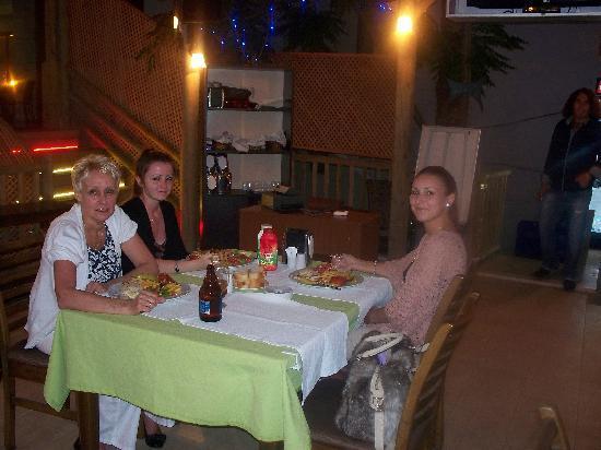 Kapmar Hotel: eating at Hotel