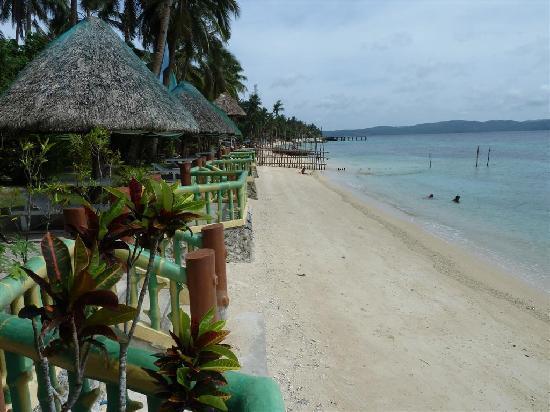 Dalupuri - San Antonio Island, Philippines: beach view