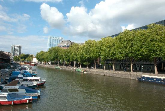 River Avon: Plenty of boats to choose from in Bristol