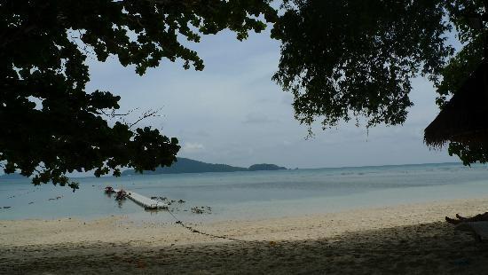 Bon Island Restaurant: view from where we were sitting
