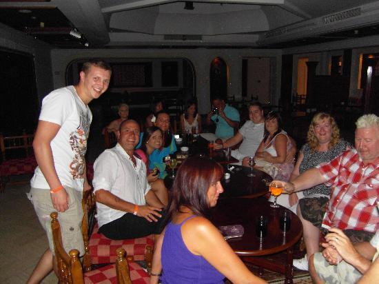 Mexicana Sharm Resort: Upstairs in the disco