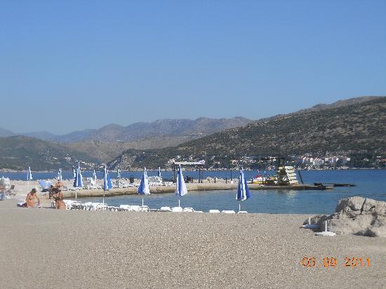 Valamar Club Dubrovnik: Cpacabana Beach
