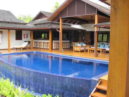Four Seasons Resort Seychelles at Desroches Island: neue Villa