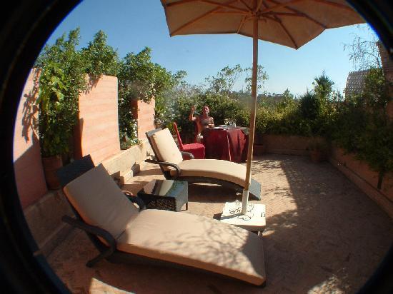 La Maison Arabe: Suite rooftop terrace
