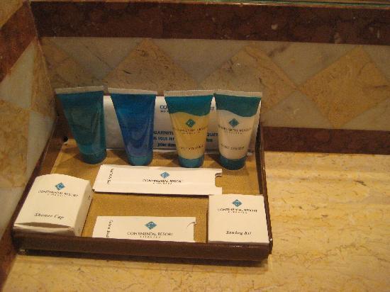 Continental Hotel Hurghada: Produits de beauté