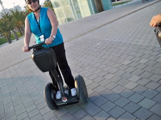 Up Suites Bcn: Best way to see Barcelona is on a Segway and soo much fun