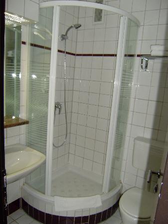 Hotel Boltzmann: Baño