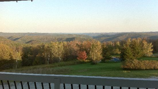 Whitcomb Summit Retreat: View from room
