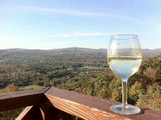 Whitcomb Summit Retreat: View from local restaurant