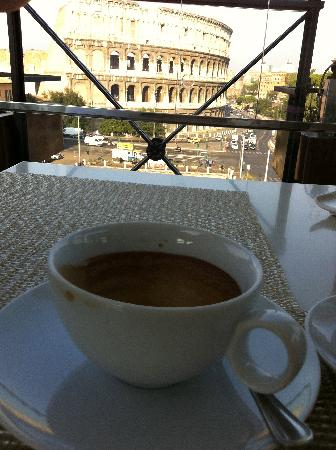 Palazzo Manfredi - Relais & Chateaux : Espresso....with a View