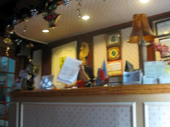 ยูโรป้า แมนชั่นเนท อินน์: reception area