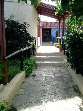 โรงแรมพาร์ค: entrance