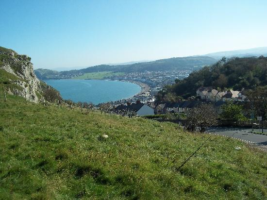 Bach y Graig: View from the Orme