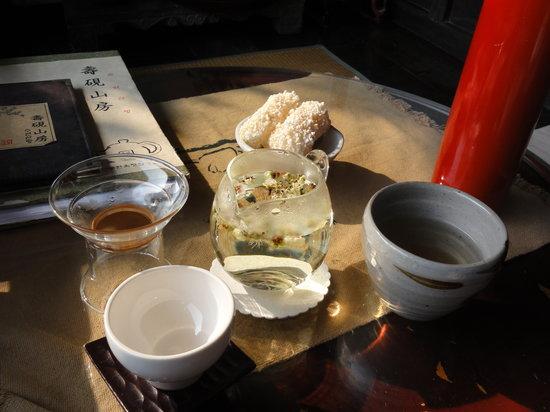 Suyeon Sanbang : 梅花茶