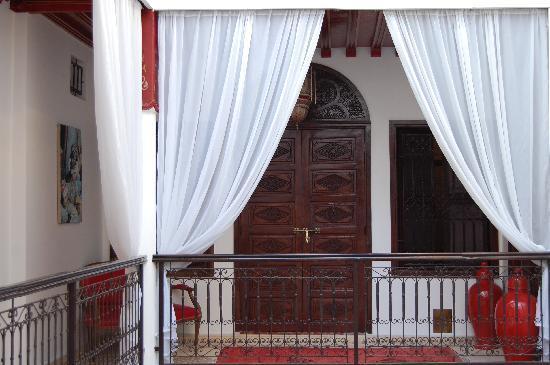 Riad Argan: la porta della suite