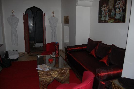 Riad Argan: l'interno della suite