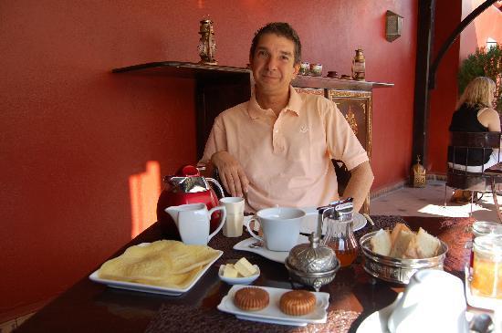 Riad Argan: la ricca colazione (buonissima)