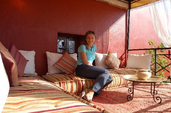Riad Argan: la terrazza