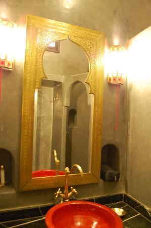 Riad Argan: il bagno