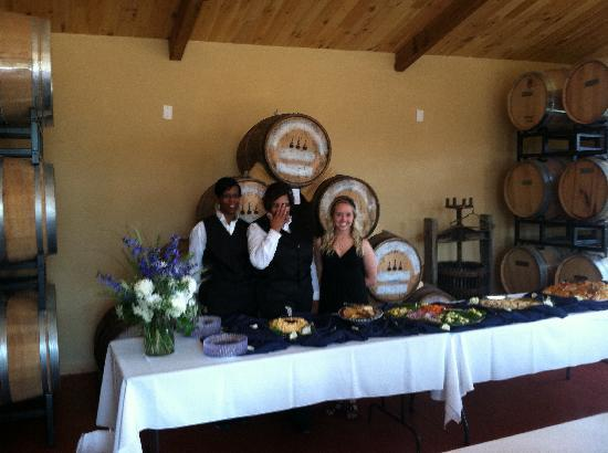 Wildside Winery: Serving in the Event Room