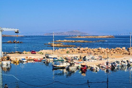 Ancient Aptera: Chania fishing boats