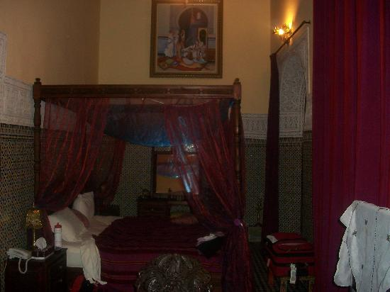 Riad Ibn Khaldoun: our room
