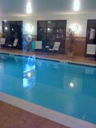 Hampton Inn Meadville: pool area